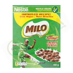 nestle milo cereal 450g