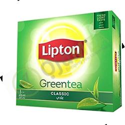 Lipton green tea bags...