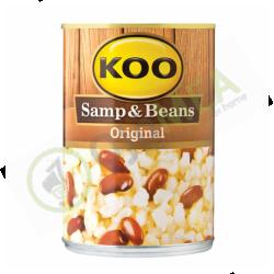Koo canned samp & beans 410g