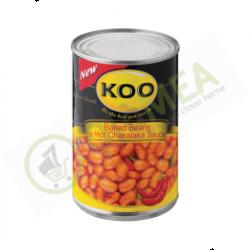 Koo baked Beans Chakalaka 410g