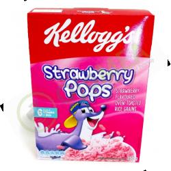 Kelloggs Strawberry Pops 350G