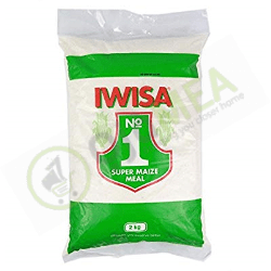 Iwisa Maize Meal 2Kg Plastic