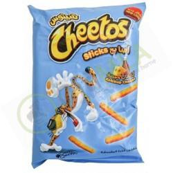 Cheetos sticks ketchup...