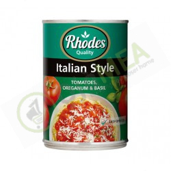 Rhodes Indian style tomato...