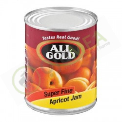 All Gold Jam 450g Apricot...