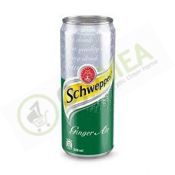 Schweppes ginger ale 300ml can