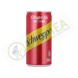 Can Schweppes Ginger Ale 200ml