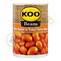 Koo Butter Beans 410g Curry