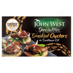 John West Smoked Oysters in...