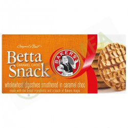 bakers beta snack caramel 200g