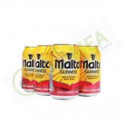 Malta Guinness Can 330 ml Pack of 6