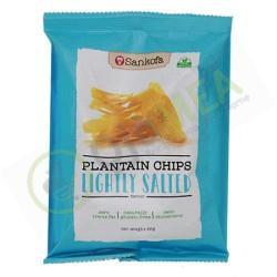 Sankofa plantain chips...