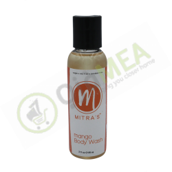 Mango body wash 2 oz
