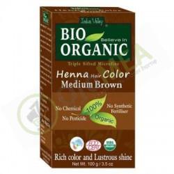 Henna Hair Colour Medium Brown