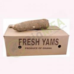 Yam half Carton (10 kg)