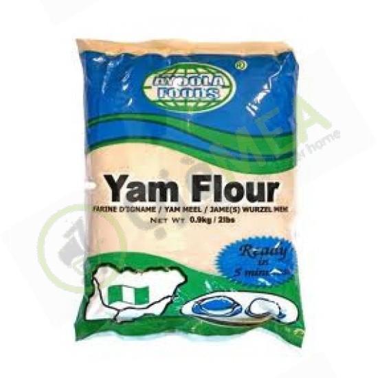 Ayoola Yam Flour 0.9kg