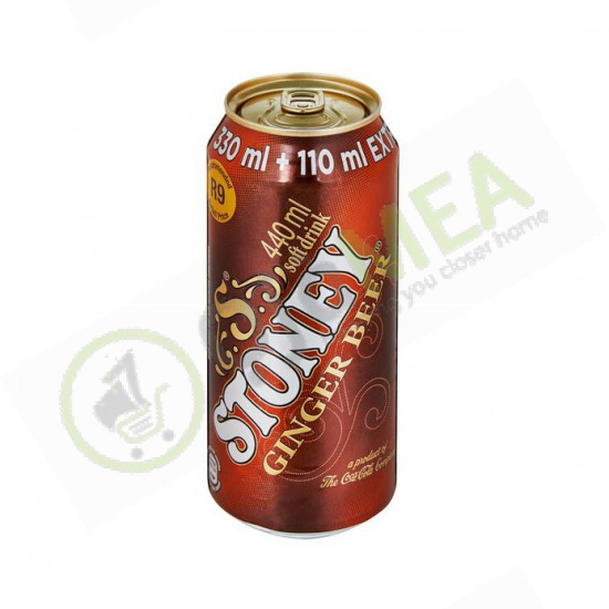 Stoney ginger beer can 300ml