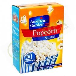 American garden popcorn natural 273g
