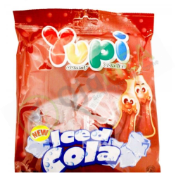 Yupi ice cola flavor