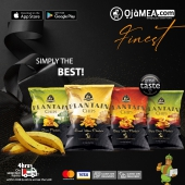 Stock up on your Premium plaintain chips ....  It's the weekend, you deserve it  We can delivery within 4Hrs*  🌐 ojamea.com ☎️ +971589 34 3300 (WhatsApp) 👉🏽 Download ojamea.com on major apps stores  Ojamea.com bringing you closer home  Go check our website and mobile app now for amazing products and deals.  #ojamea #africansinuae #africansindubai #OjameaFinest #Ojameaexpress #africanproducts #africanfood #africangroceryonline #africanonlineshop #dubaifood #africanonlinestore #dubaifoodie #amazon #noon #healthy #africanfoodfestivaluae  #africadubai #food #foodstagram #meat  #tastyfood #tasting #dubai #oluoluplantainchips #plantainchips #africansnacks #africaeverywhere #finest