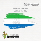 Wishing the people of Sierra Leone a happy Independence Day.  From Ojamea.com, Africa's Leading Market Place  For Quality & Premium products  Fresh, Frozen & anything in-between delivering to all Emirates Farms Fresh | Butchers' Shop | Food Cupboard | Drinks Beverages | Health Beauty | Household & Much more Now delivering within 4hrs* (subject to availability & location around the UAE)  Follow @ojamea1, looking for a product Ask @jagsdegenie  🌐 ojamea.com ☎️ +971589 34 3300 (WhatsApp) 👉🏽 Download ojamea.com on major apps stores  Ojamea.com bringing you closer home Proud Founding partners of the All African Food Festival UAE @africanfoodfestuae  #ojamea1 #ojamea #jagsdegenie #OjameaFinest  #africanonlineshop #africanonlinestore  #africandubai #africanfoodfestivaluae #africaeverywhere #africansinuae #loversofafrica  #premiumquality #tasteofafrica #akon  #SierraLeoneindependenceday #AfricaWeLove   #SierraLeone #60years  #saloneSweet #proudsierraleonian #sierraleoneindependence #mamasalone🇸🇱🇸🇱🇸🇱 #sierraleoneanskillingit #finesalonetiti #sierraleoneindependence #itskmebaby #sokota