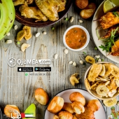 DINNER! What's on your mind?  You can now shop on Ojamea.com or WhatsApp +971556190322 and have it delivered  Or if you prefer, you can come pickup from Our New Sorting centre   Unit 2, 681 Sheikh Zayed Road, Next to Ace hardware store Dubai, Makani Code 20803 82202  Africa's Leading Market Place.....  For Quality & Premium produce, check our Farm Fresh range  Fresh, Frozen & anything in-between delivering to all Emirates Farms Fresh | Butchers' Shop | Food Cupboard | Drinks Beverages | Health Beauty | Household & Much more  Now delivering within 4hrs* (subject to availability & location)  Follow @ojamea1, looking for a product Ask @jagsdegenie  🌐 ojamea.com ☎️ +971589 34 3300 (WhatsApp) 👉🏽 Download ojamea.com on major apps stores 🏬 Pickup at Unit 2, 681 Sheikh Zayed Road, (Next to Ace Hardware) AL Quos 1  Ojamea.com bringing you closer home Proud Founding partners of the All African Food Festival UAE @africanfoodfestuae  #ojamea1 #ojamea #jagsdegenie #OjameaFinest #Ojameaexpress  #africanonlineshop #africanonlinestore #onlinegroceryshopping  #africandubai #africanfoodfestivaluae #africaeverywhere #africansinuae #loversofafrica  #premiumquality #tasteofafrica  #foodstagram #tastyfood #tasting #chillies 🌶 #lemons #spice #condiments #sauce #egusi #atarode # Farmfresh #finest #pepper #yam #plantainchips #akon